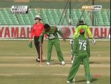 Most ridiculous way of getting Run-Out. How can a player be soo careless. See the most hilarious video.