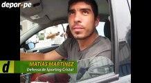 Sporting Cristal: Matías Martínez y sus buenos números cuando debutó (VIDEO)