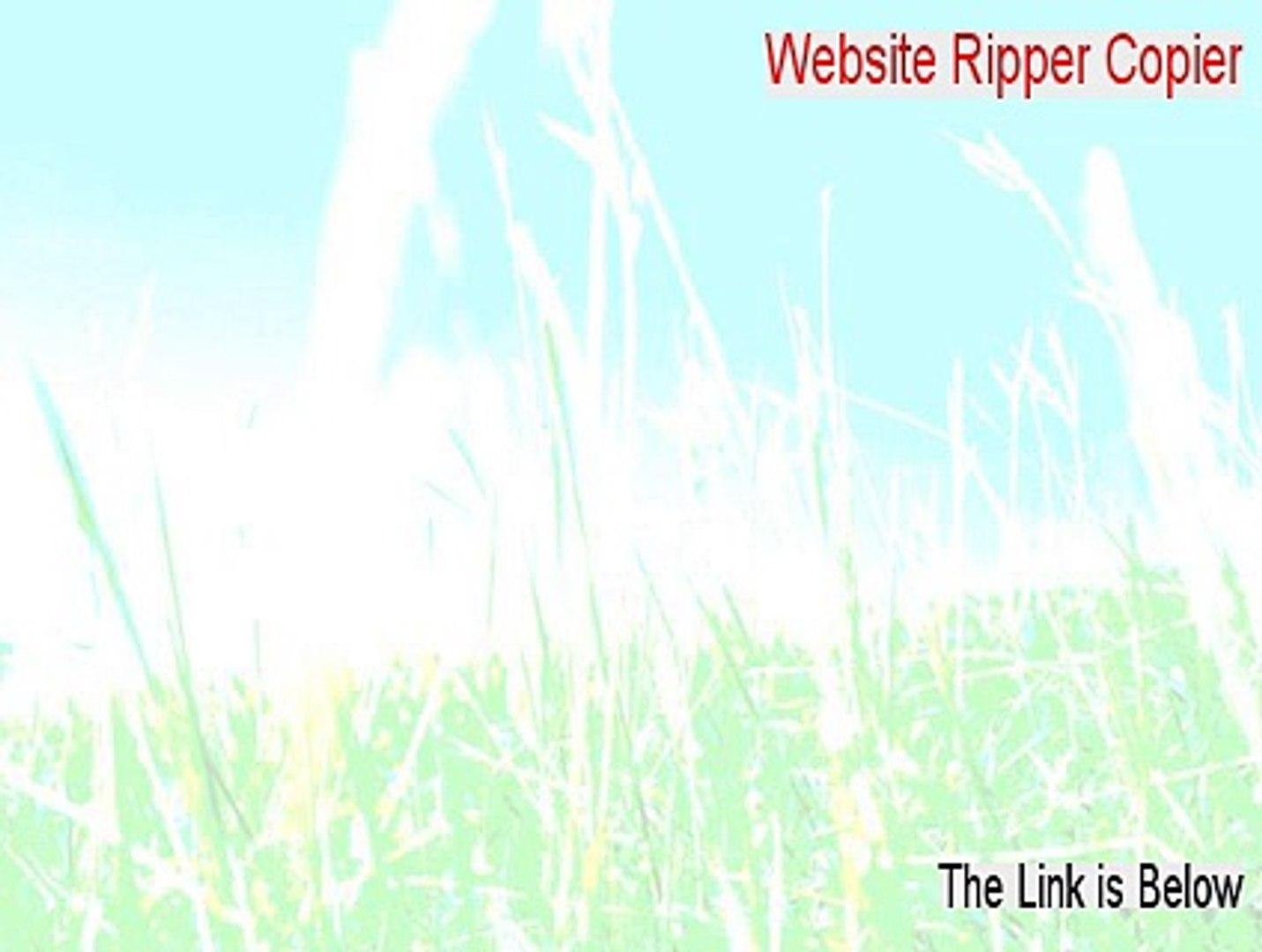 Website Ripper Copier Full Download (Legit Download 2015)
