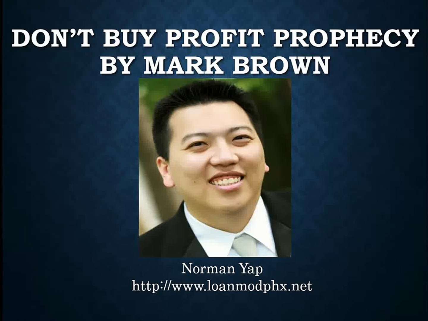 DON'T BUY Profit Prophecy by Mark Brown - Profit Prophecy VIDEO REVIEW Binary Options
