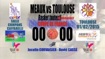 HANDIBASKET MEAUX vs TOULOUSE COUPE DE FRANCE