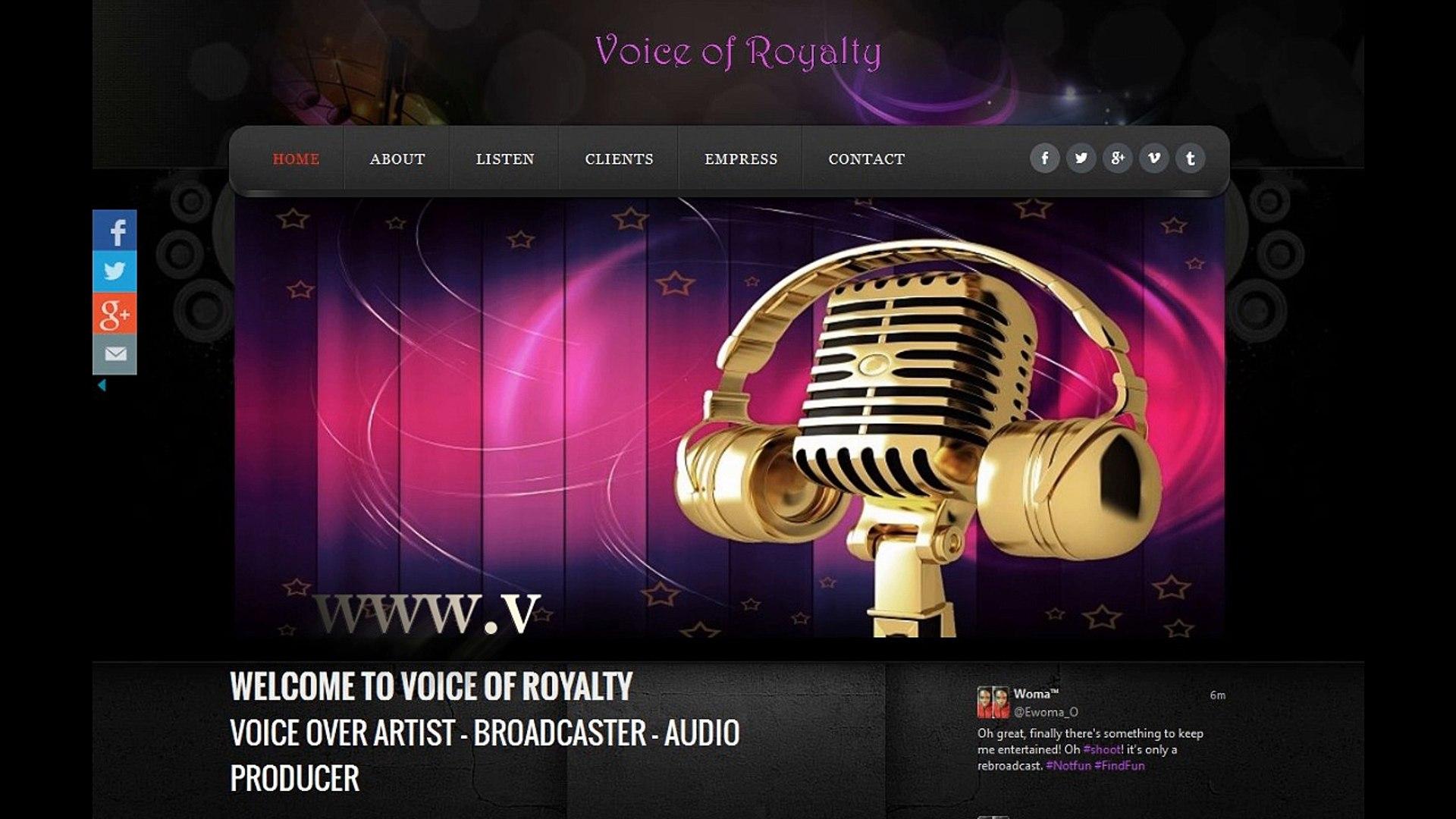 Nigeria Voice Over Talent Commercials in Nigeria