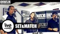 Set&Match - Quoi De Neuf ? (Live des studios de Generations)