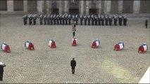 La Marseillaise jouée lors de l'hommage national aux morts d'Albacete aux Invalides