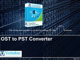 How to convert an offline file (.ost) to a personal file (.pst) file