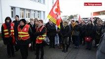 Hôpital Bretagne-Atlantique. Manifestation pour dénoncer les conditions de travail