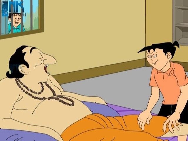 Gurudeb | Nonte Fonte | Comedy Animation | Bengali Cartoon Series