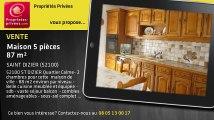 A vendre - maison - SAINT DIZIER (52100) - 5 pièces - 87m²