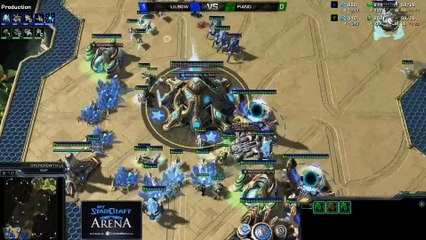 Lilbow (P) vs. Maj0r (T) - MyStarCraft Arena #5 powered by Dailymotion StarCraft II Heart of the Swarm