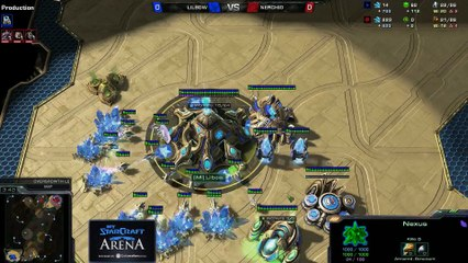 Lilbow (P) vs. Berchio (Z) - MyStarCraft Arena #5 powered by Dailymotion StarCraft II Heart of the Swarm