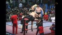 AJPW Classics Jumbo Tsuruta & Great Kabuki Vs. Michael Hayes & Terry Gordy (1/22/84) 1080p HD