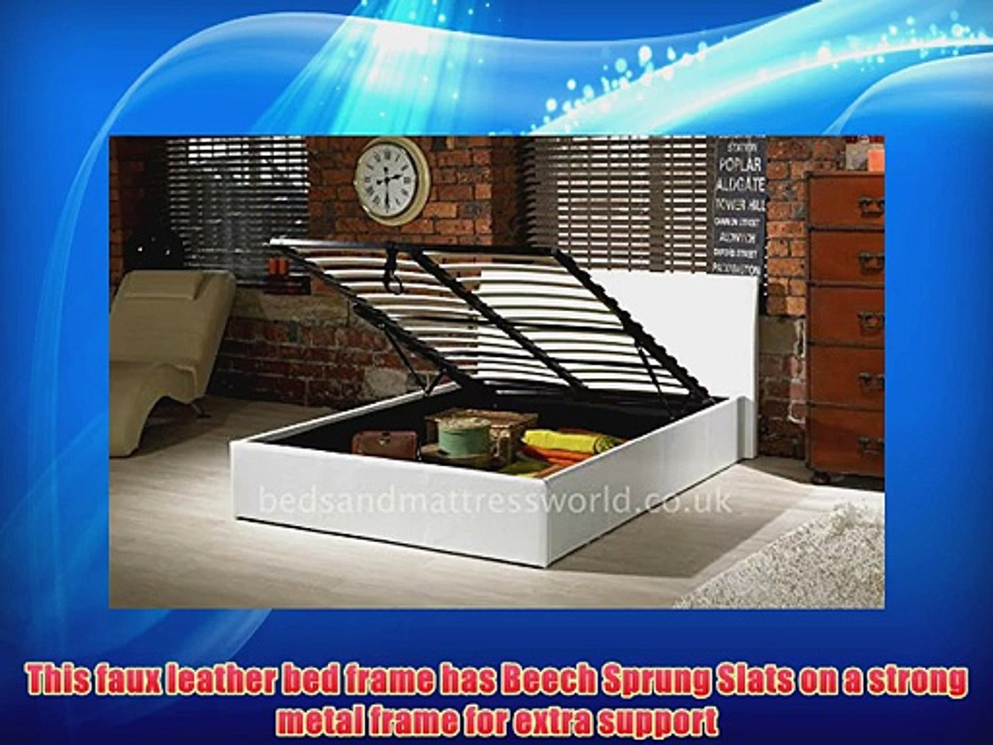Magnificent Storage Ottoman Bed Brown Black White 4Ft6 Double 4Ft Small Double 5Ft King Size White 5Ft Theyellowbook Wood Chair Design Ideas Theyellowbookinfo