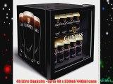 Guinness Mini Fridge 48ltr | Official Branded Guinness Fridge Guinness Can Cooler