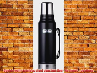 Stanley 1 Litre Classic Legendary Vacuum Bottle Black