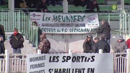 Lézignan XIII vs Carcassonne XIII - 8 février 2015