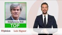Le Top Flop: Stéphane Le Foll gagne son combat pour les pommes et les poires  / Jean-François Copé mis en examen pour abus de confiance