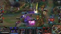 Top 5 LCS Spring Split week 2 - League of Legends