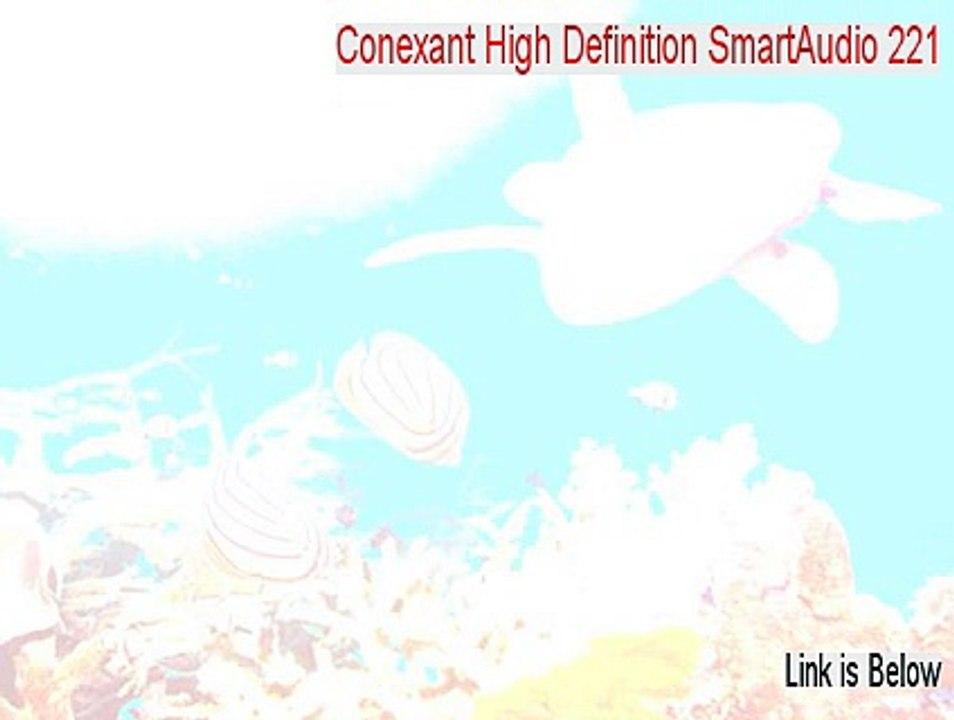 HIGH DEFINITION SMARTAUDIO 221 WINDOWS 7 X64 TREIBER