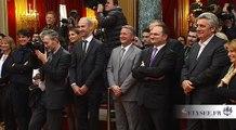 Discours lors de la réception de l'équipe de France championne du monde de handball