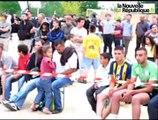 Foot : 1er match des Bleus projeté à Blois sport plage