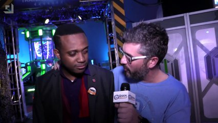 Going Behind the Scenes at The Marvel Experience - GeekBeat.TV
