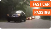 GTR Passes Slow Cars | Left Behind