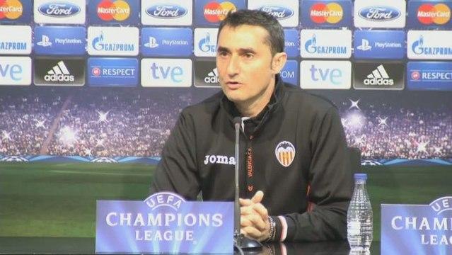 Foot - Ligue des Champions - Valence : Valverde voit le PSG favori