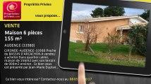 A vendre - maison - AUDENGE (33980) - 6 pièces - 155m²