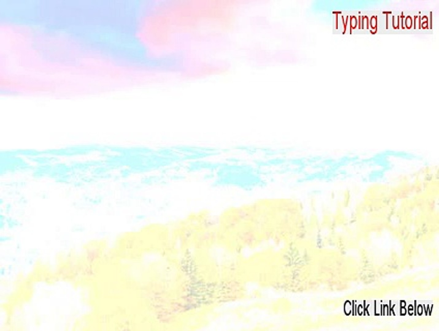 Typing Tutorial Full Download - Download Now