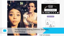 Sarah Hyland Dating Dominic Sherwood After Split With Matt Prokop