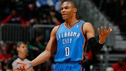 Russell Westbrook Gives Teammate Death Stare after Being Denied High Five