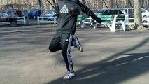 Double Heel Pop | FIFA Street Skill Tutorial | ADVANCED In-Air Soccer Juggling Skill