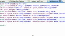 Android Application Development - 162 - Basic Widget Design