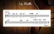 Blues Up Shuffle Jam Track In Various Keys - Guitar Backing Track
