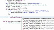 Android Application Development - 166 - Relating Context with the Widget Manager