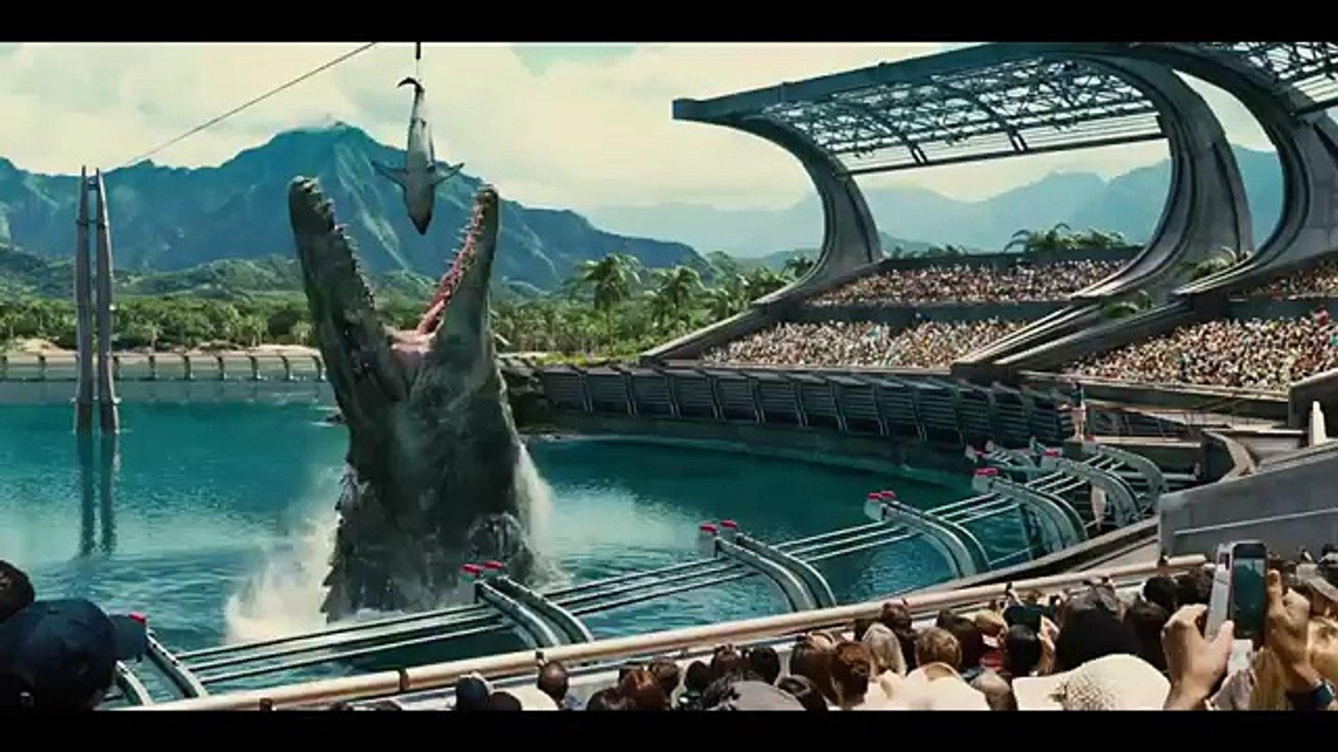 Jurassic World Official Super Bowl TV Spot (2015) - New jurassic park movie - movie trailers - Chris