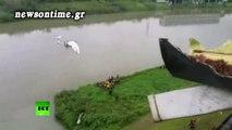 newsontime.gr - Στους 11 οι νεκροί από την πτώση αεροσκάφους σε ποταμό της Ταιβάν