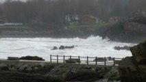4 Febrero. Temporal en Candás, Asturias