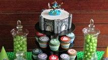 Light Up Skylanders Cake! Make a Skylanders Swap Force Portal of Power Cake that Glows & Flashes!