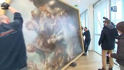 Tableau XXL du MUMA prêté au château de Versailles
