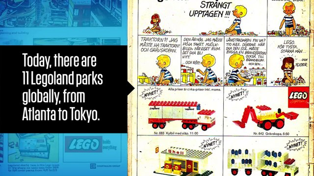 A History of Lego in Three Minutes