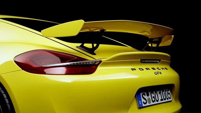 Le Porsche Cayman GT4 franchit le 0 à 100 km/h en 4,4 secondes
