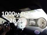 1000 m départ arrêté en Audi S1