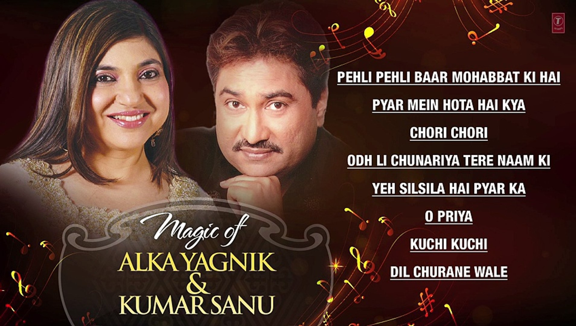 ALKA YAGNIK AND KUMAR SANU SONGS - Superhit Bollywood Songs - Non-Stop Hits  - Jukebox