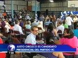 Justo Orozco será candidato presidencial por el Partido Renovación Costarricense