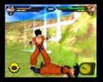 Test vidéo - Dragon Ball Z: Budokai Tenkaichi 2 (Sadako en Mode Super Loser Saiyens Niveau 99)