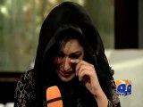 Meera breaks into tears during Amir Liaquat show-Geo Reports-04 Feb 2015