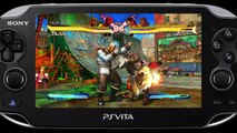 Trailer - Street Fighter X Tekken (Gameplay sur PS Vita)