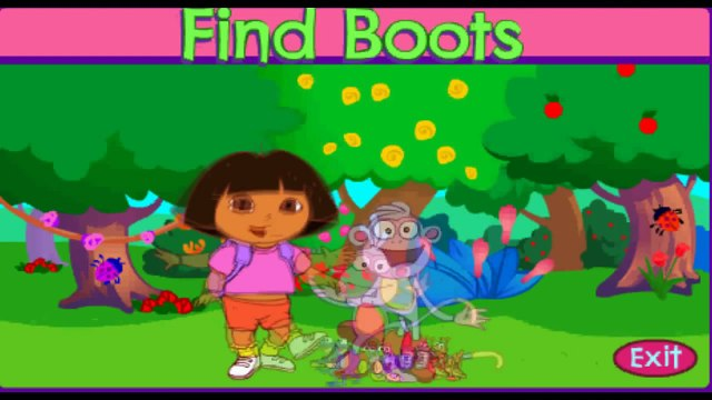 Dora Find Boots - Dora Game Movie - Dora The Explorer