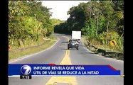 Poco control en peso de los vehículos pone en peligro las carreteras del país